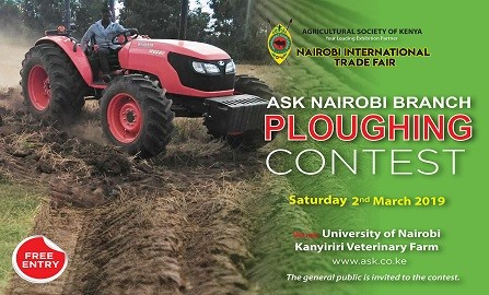 THE 2019 NAIROBI BRANCH PLOUGHING CONTEST